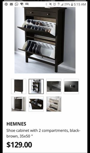 Shoe cabinet for Sale in Anaheim, CA