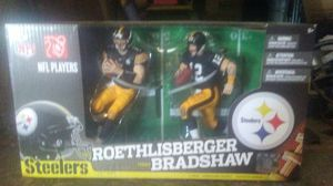 Steelers action figures set for Sale in Elizabeth, PA