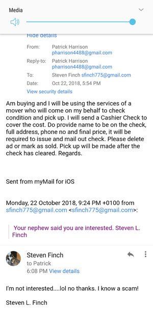 Scam for Sale in Glen Burnie, MD
