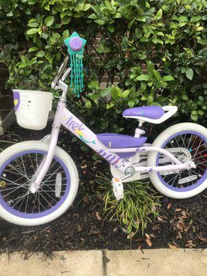 """Trek Mystic Girls 16"""" Bike- purple mermaid for Sale in Cedar Park, TX"""