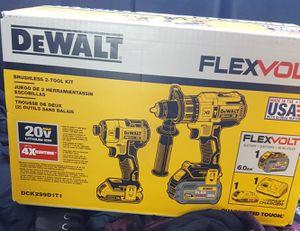 Dewalt flexvolt drill combo for Sale in Sherman, TX