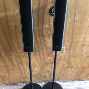 Sony Adjustable Stand Speakers for Sale in Camp Hill, PA