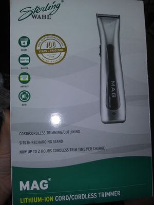 Sterling Wahl cordless electric trimmers NEW IN BOX for Sale in Covington, KY