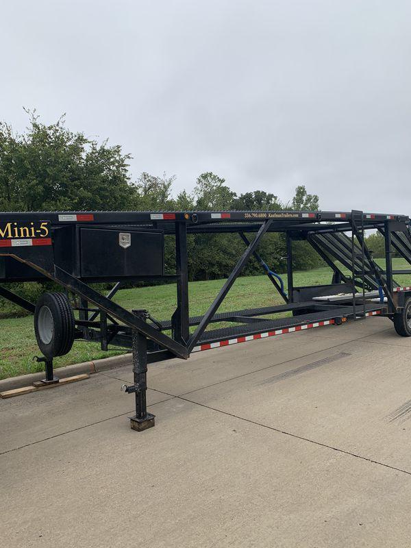 2019 5 car hauler trailer