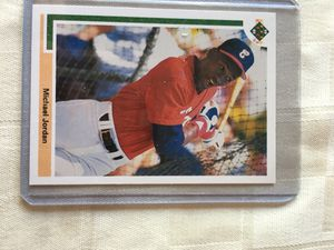Rare jordan baseball card, great condition for Sale in NJ, US