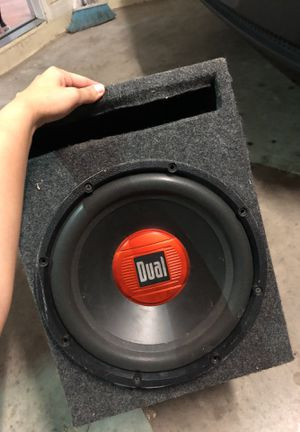Speaker for car or home audio for Sale in Wimauma, FL