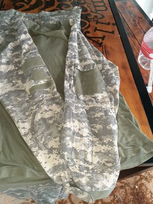 Airsoft camo pants and shirt for Sale in Houston, TX