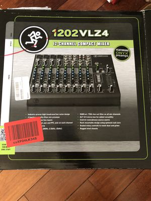Mackie 12-channel compact mixer for Sale in Oakland, CA
