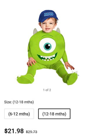 Baby boy costume 12/18m for Sale in East Rutherford, NJ
