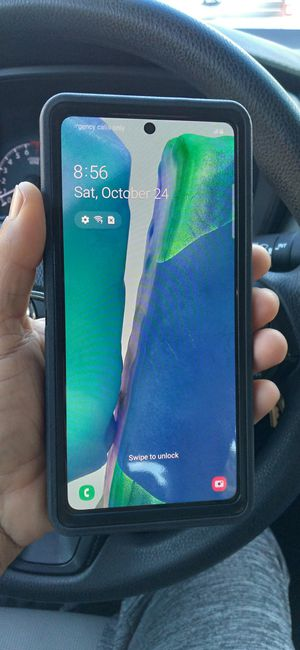 Samsung galaxy note 20 5g 128gb factory unlocked for Sale in Tampa, FL