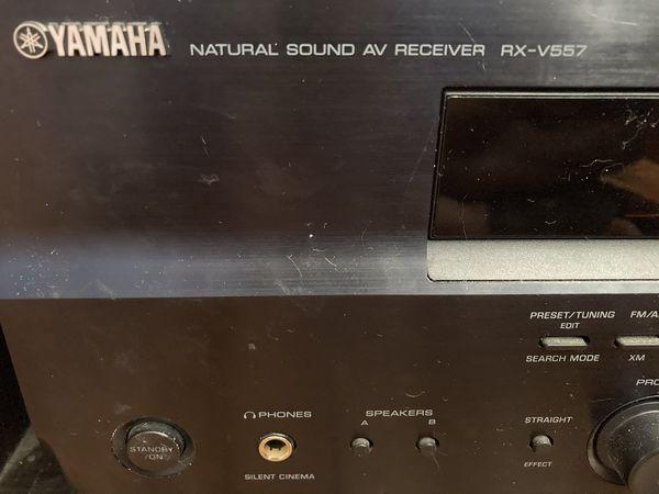 Yamaha RX-V557 200-watt stereo receiver