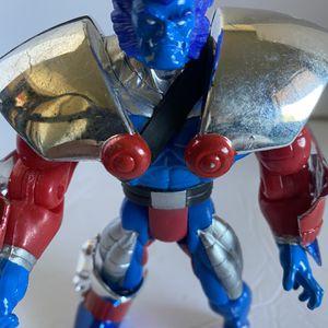 X-Men Mutant Armor Heavy Metal Beast Action Figure Marvel Toy Biz 1996 for Sale in Los Angeles, CA