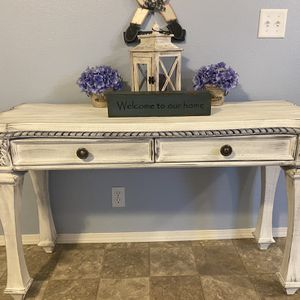 Custom Finished Shabby Chic Sofa Table / Desk for Sale in Carbonado, WA