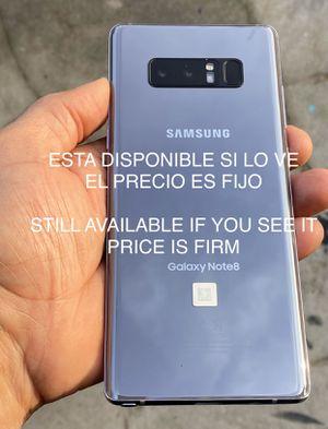 Samsung galaxy note 8 64g unlocked. LEA DESCRIPCIÓN ANTES DE PREGUNTAR / READ DESCRIPTION BEFORE ASKING for Sale in San Leandro, CA