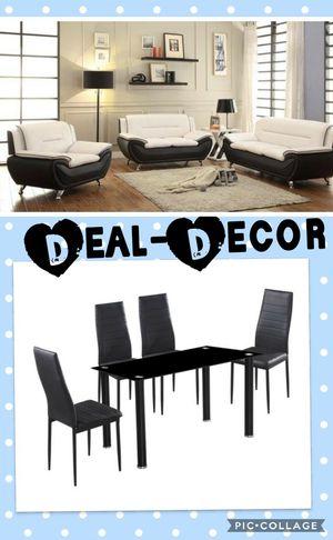 White/Black 2 Room Combo Set for Sale in Marietta, GA