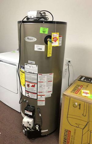 50 Gallon Gas Water Heater 🙈✔️⏰⏰⚡️🍂🔥😀🙈✔️⏰⚡️🍂🔥😀🙈✔️⏰⚡️🍂 Appliance Liquidation!!!!!!!!!!!!!!!!!!! 05V for Sale in Houston, TX