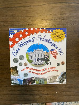 D.C. Coin Hopping Board Game for Sale in Ashburn, VA