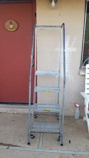 Hamerslag Rolling 4-Step Safety Ladder for Sale in Avondale, AZ