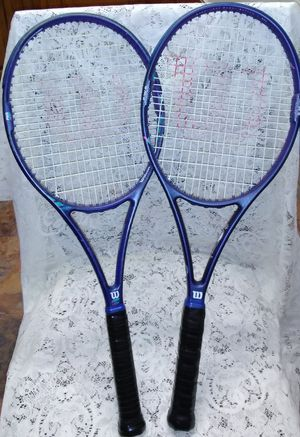 Wilson and Spalding Tennis Rackets for Sale in Hilldale, PA