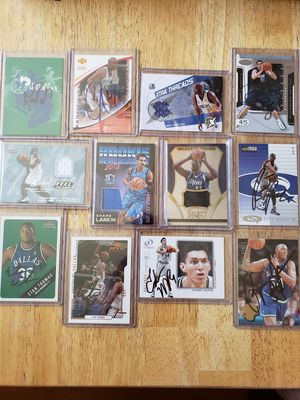 Dallas Mavericks NBA basketball Jersey and autograph cards for Sale in Gresham, OR