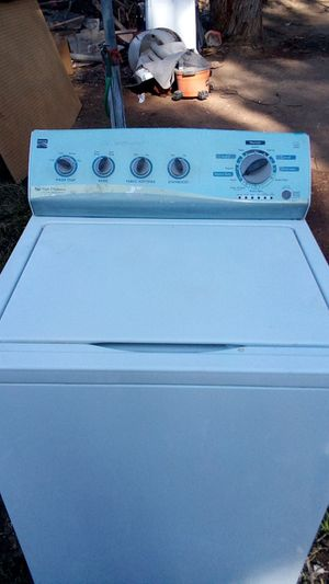 Kenmore HE washer works great extra large capacity for Sale in Fresno, CA