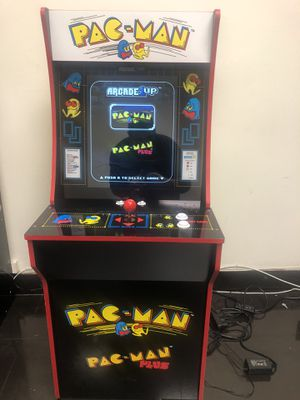 Pac-Man Pacman arcade machine arcade box video game console arcade cabinet two games for Sale in Los Angeles, CA