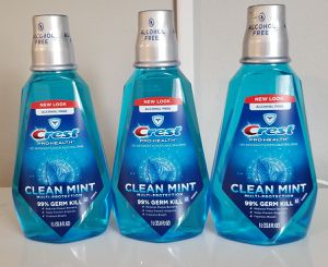 3 Crest Pro Health Clean Mint mouthwash for Sale in Rancho Cucamonga, CA