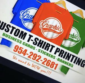 T-shirt Printing for Sale in Tamarac, FL