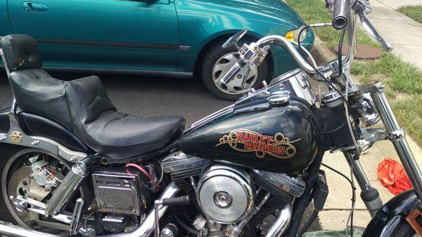 1985 Harley 1300cc wide glide