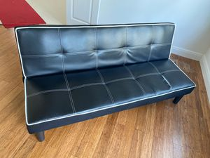 Leather Futon for Sale in Fort Lauderdale, FL