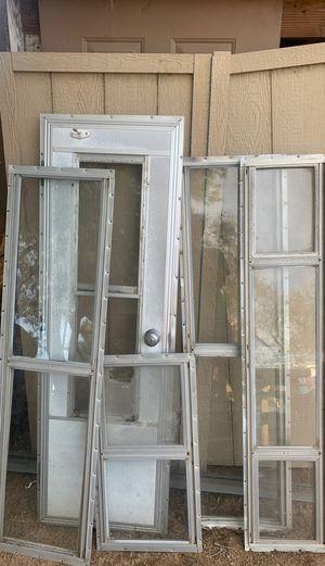 Windows from camper for Sale in Hesperia, CA