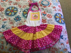 3T Pink and white Rapunzel Party Dress from Etsy for Sale in Davie, FL