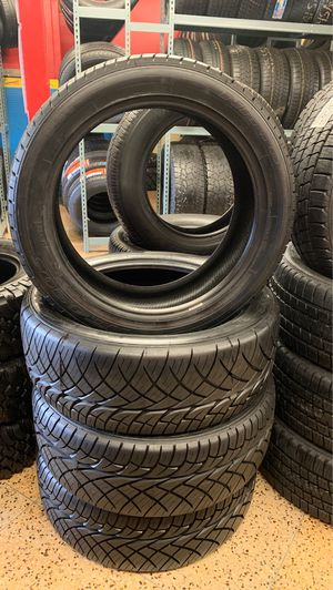 Used set 275-45R22, Nitto tires for Sale in Raleigh, NC