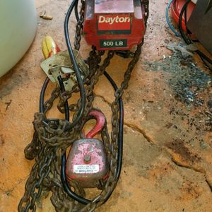 Electric chain hoist for Sale in Knoxville, TN