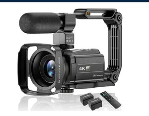 Video Camera Camcorder 4K 48MP Ultra HD IR Night Vision Wi-Fi NEW ½ PRICE for Sale in Virginia Beach, VA