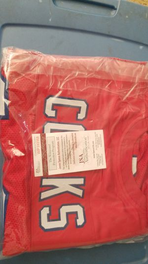 New England Patriots Brandon Cooks autograph jersey JSA certified for Sale in Lancaster, CA