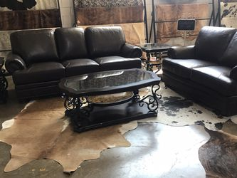 Beautiful Brown Love Seat And Sofa Set! Take It Home Today!! $49 Down!! for Sale in Dallas,  TX