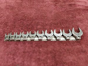 Craftsman USA SAE crowfoot wrench set for Sale in Romeoville, IL