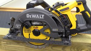 DeWalt 60 volt circular saw cordless with battery & charger for Sale in Seattle, WA