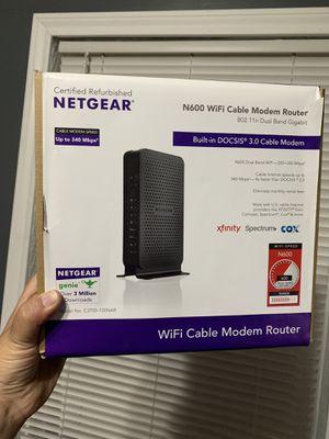 Netgear N600 WiFi Cable Modem for Sale in Cypress, TX