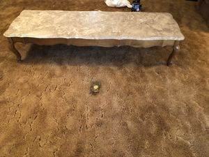 Marble top maple table for Sale in Fresno, CA