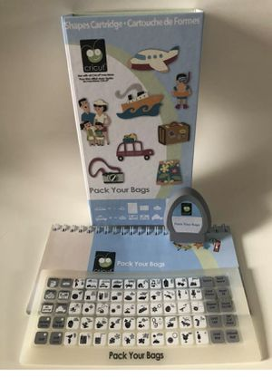Pack Your Bags Cricut Cartridge for Sale in Lutz, FL