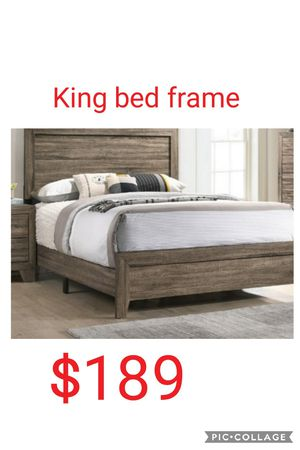 King bed frame for Sale in Las Vegas, NV