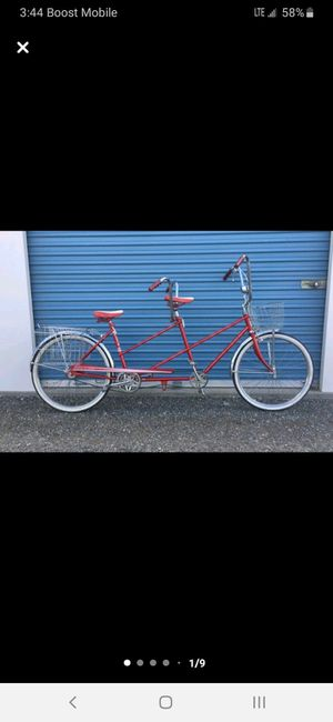 Excellent shape old school 2 seat bicycle for Sale in Prosser, WA