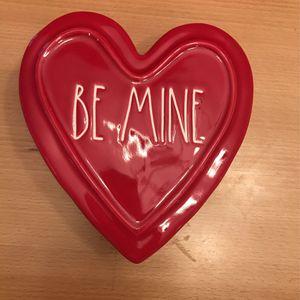 "Rae Dunn Heart Trinket Box ""Be Mine"" for Sale in Scottsdale, AZ"