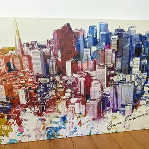 Canvas Photo Frame (Sf City Landscape) for Sale in Oakland, CA
