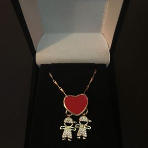 Heart Necklace/ 2 Boys for Sale in Corona, CA