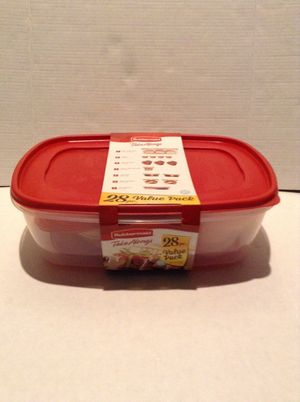 New Rubbermaid Take Along 28pc. Storage Containers for Sale in Hayward, CA