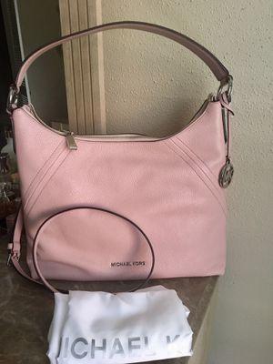 Michael Kors large hobo crossbody Handbag rose pink for Sale in Irving, TX