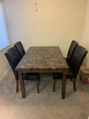 Kitchen Table with Chairs for Sale in Alexandria, VA